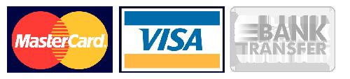 visa mastercard bank transfer logo